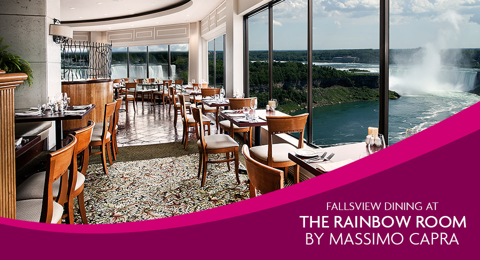 Fallsview Dining at the Rainbow Room by Massimo Capra