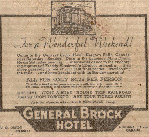 General Brock Hotel Niagara Falls