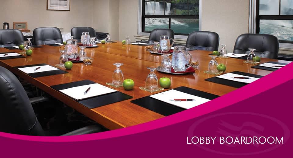 Lobby Boardroom