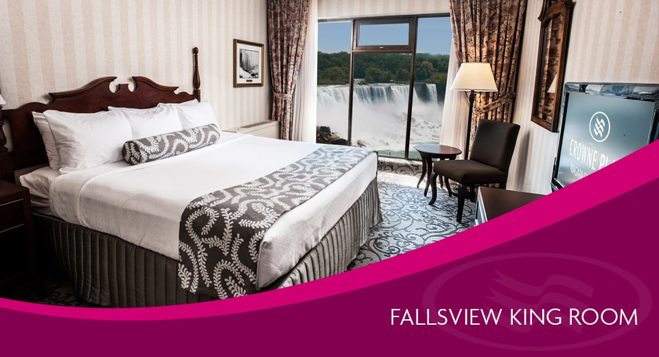Fallsview King - Crowne Plaza Accommodations