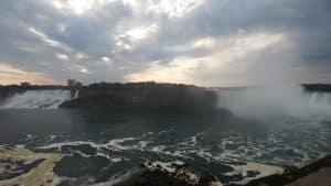 Niagara River, American Falls and Niagara Falls