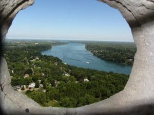 Queenston Heights from Brocks' Monument