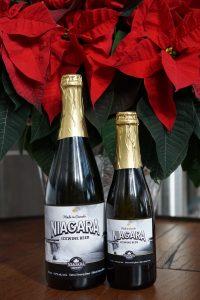 Bottles of Niagara Icewine Beer from Niagara Brewing Company.