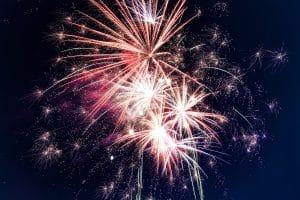 Niagara Falls Canada Day fireworks