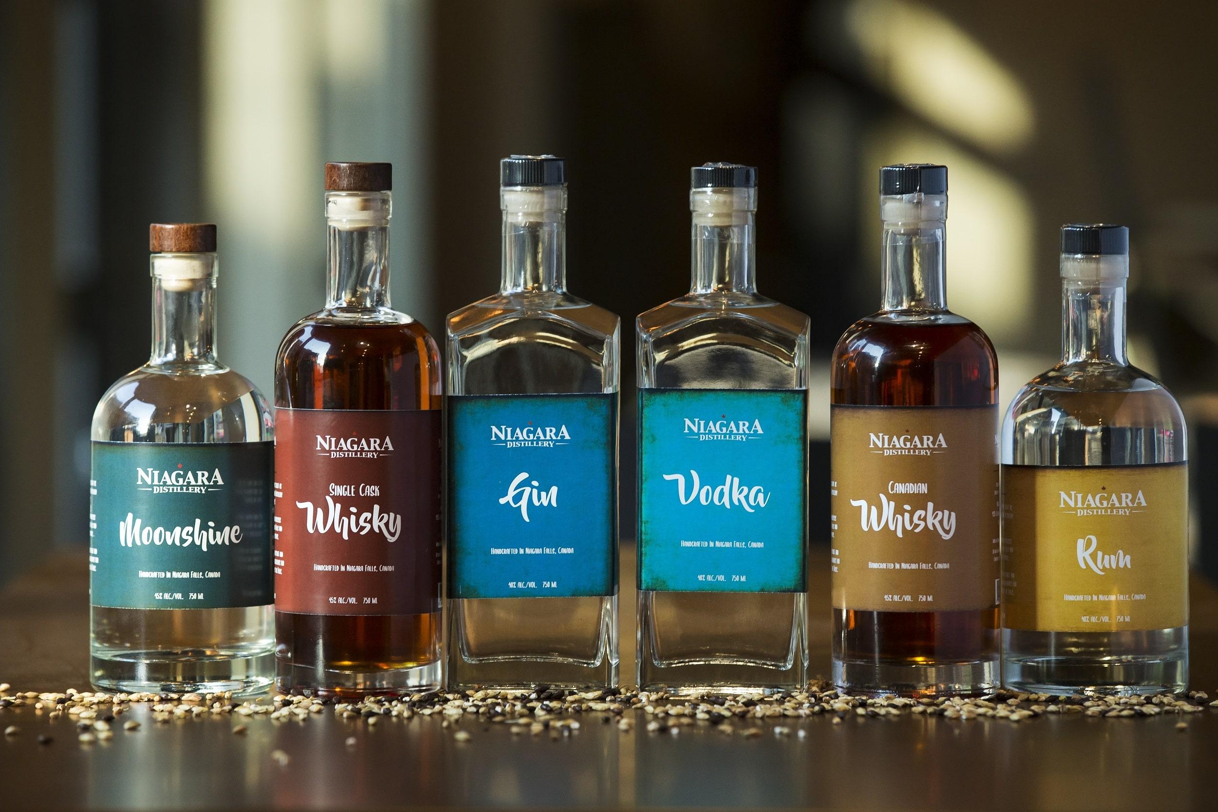 Niagara Distillery Signature Spirits