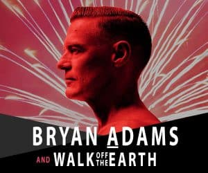 Bryan Adams to headline New Year's Eve